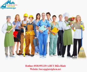 Dịch vụ cung ứng lao động đáp ứng mọi ngành nghề