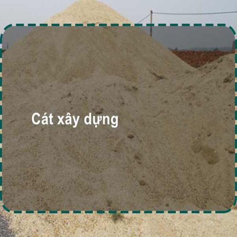 Giá cát xây dựng tư vấn trực tuyến