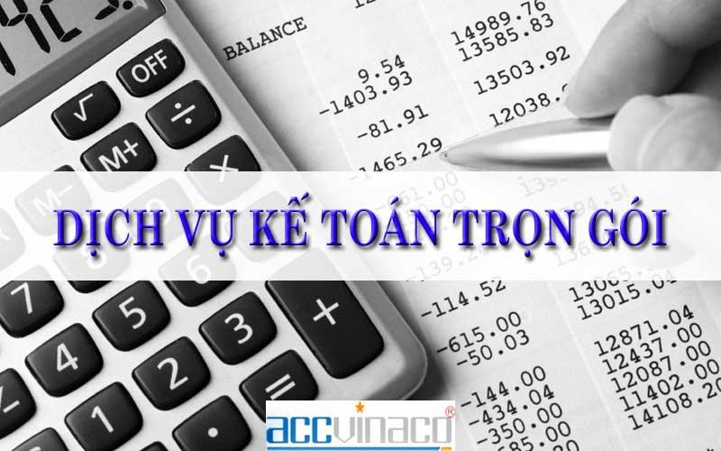 Báo giá Dịch vụ kế toán trọn gói tại Huyện Củ Chi