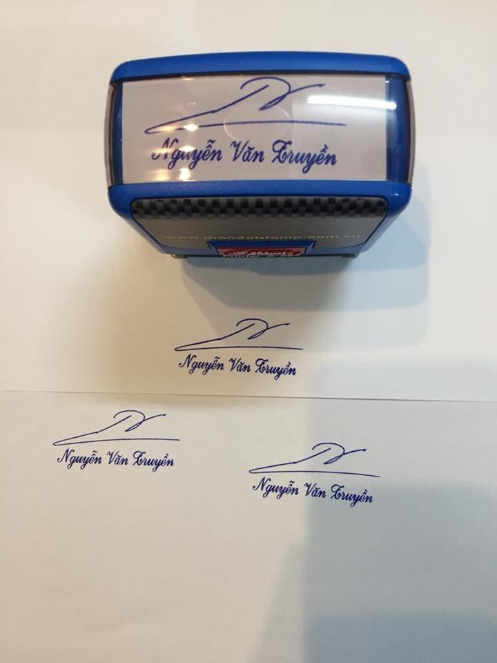 Nhận khắc dấu chữ ký online nhanh chóng, giao tận nơi giá rẻ
